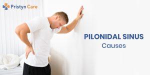 pilonidal sinus causes