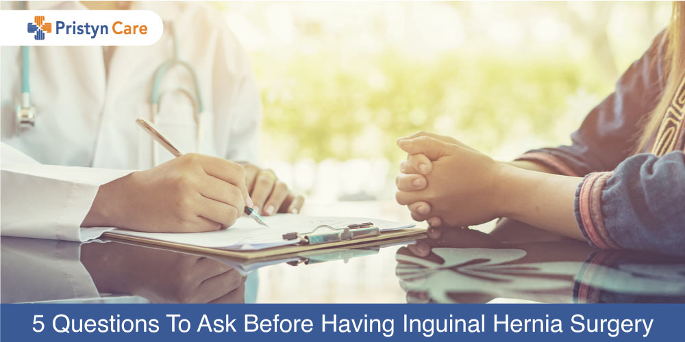 questions to ask before inguinal hernia surgery