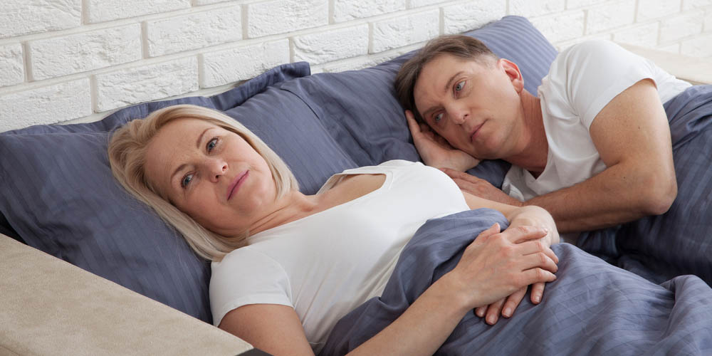 female having sexual problems during menopause