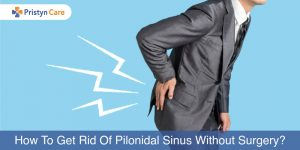 treat pilonidal sinus without surgery