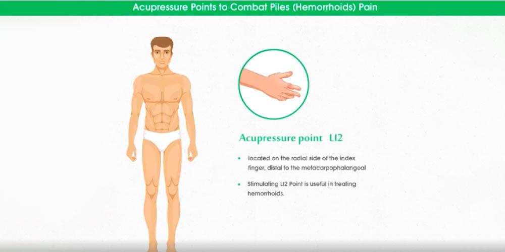 Acupressure point L12