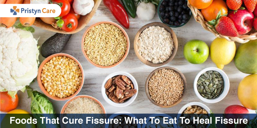 Food that cure fissure