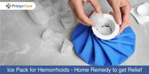 Ice Packs for hemorrhoids