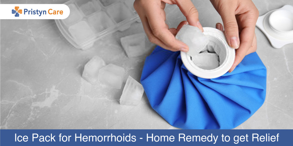 Ice Packs for hemorrhoids