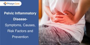 female having Pelvic Inflammatory Disease