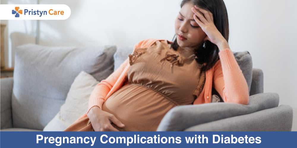 female worried about Pregnancy Complications with Diabetes