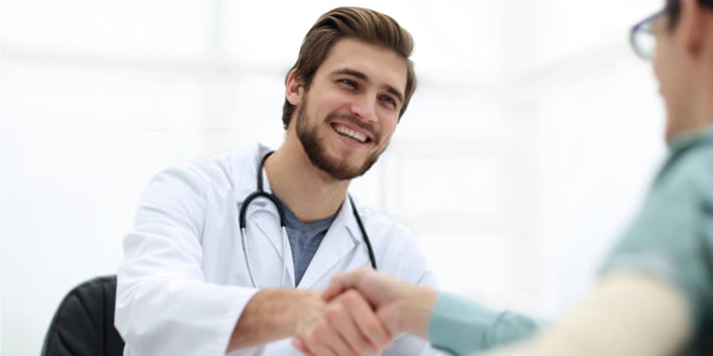 doctor and patient-urologist
