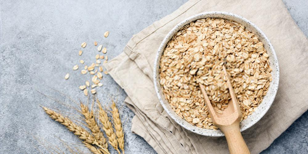 oats-fiber rich diet