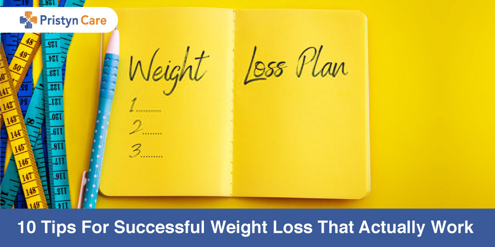 10 tips for successful weight loss that actually help