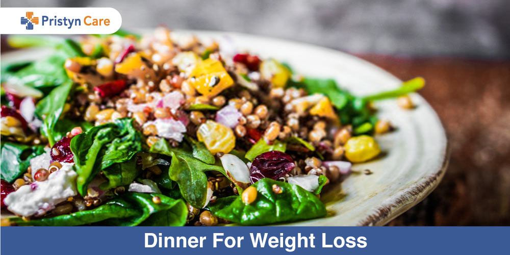 Dinner for weight loss