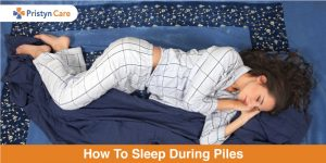 How to sleep during piles