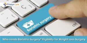 Who needs bariatric surgery