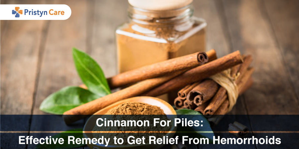 Cinnamon For Piles