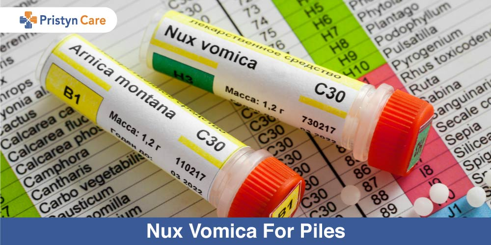 Nux Vomica To Treat Piles