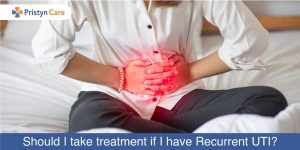 Should I take treatment if I have Recurrent UTI?