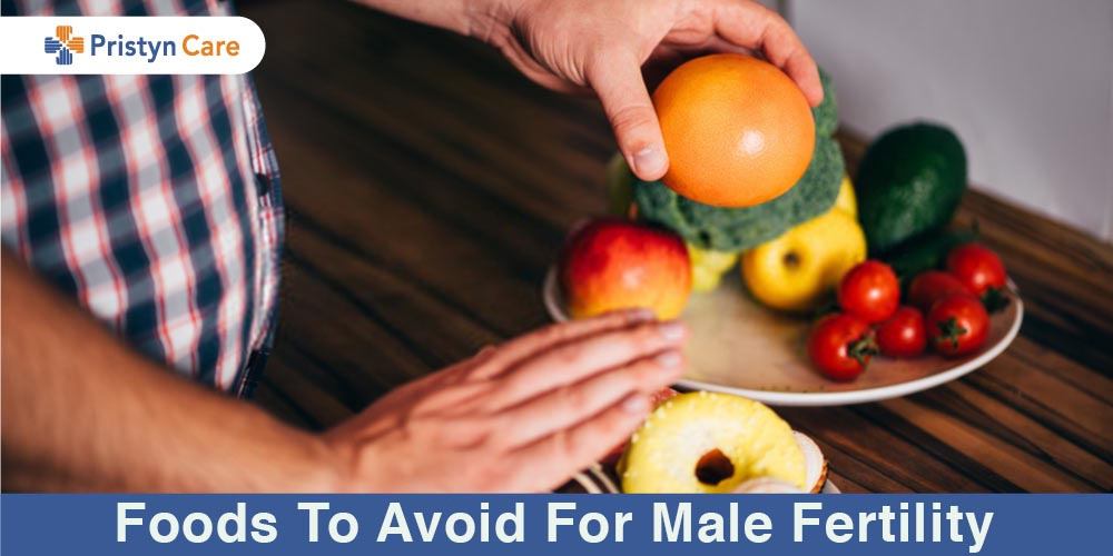 foods to avoid for male fertility