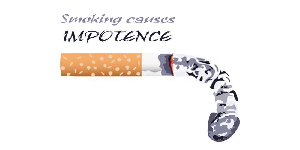smoking causes impotence