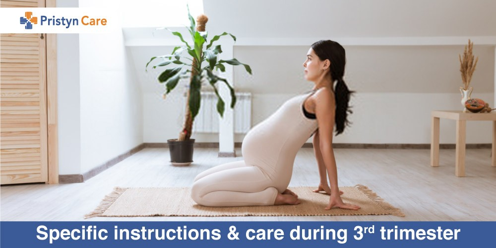 Pristyn Care Patient Review - Specific instructions and care during 3rd trimester