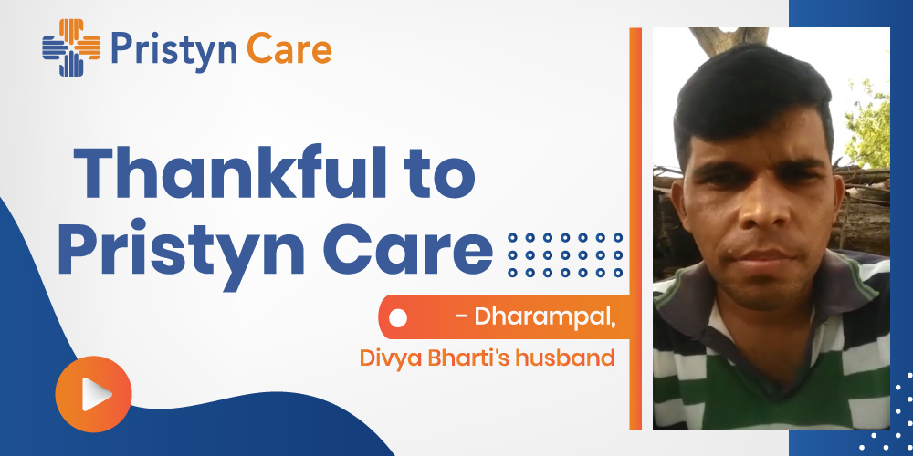 PATIENT-EXPERIENCE- Divya Bharti , narrated by her husband Dharampal