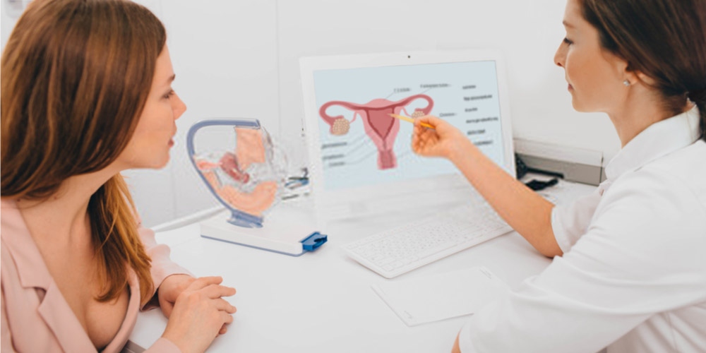 female visiting gynecologist for uterine fibroids