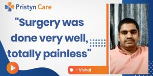 The surgery was done very well, it was painless, Vishal