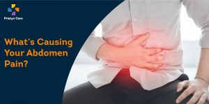 What causes abdomen pain