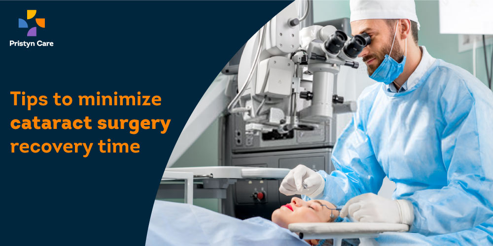 Minimize Cataract Surgery Recovery Time