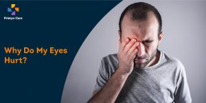 what causes eye pain