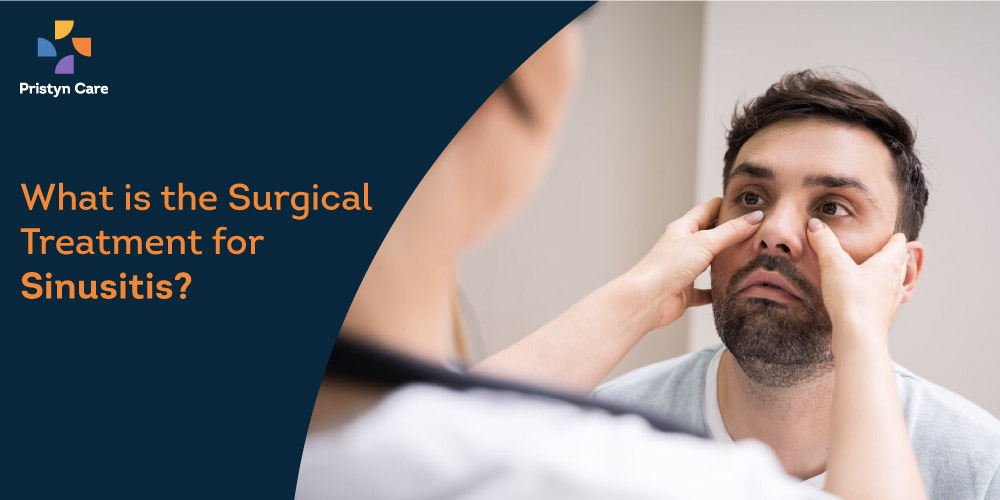 Best surgical treatment for sinusitis