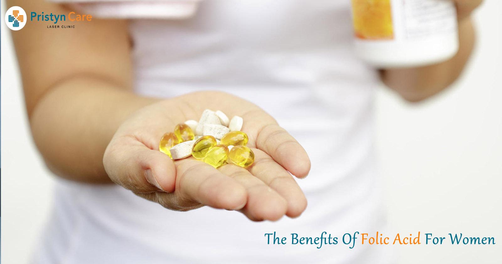 The benefits of folic acid for women